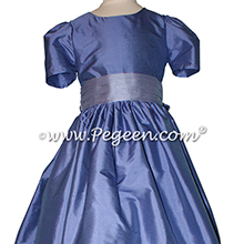 Violet and euro-Peri Flower Girl Dresses - Pegeen style 398