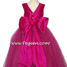 BOING (FUSCHIA) TULLE FLOWER GIRL DRESSES