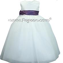 Europeri and Antique White ballerina style with white tulle