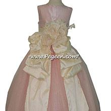 Flower Girl Dresses used for celebrity wedding Katharine McPhee's sister