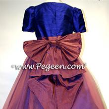 BLUE INDIGO NUTCRACKER BALLET Flower Girl Dresses