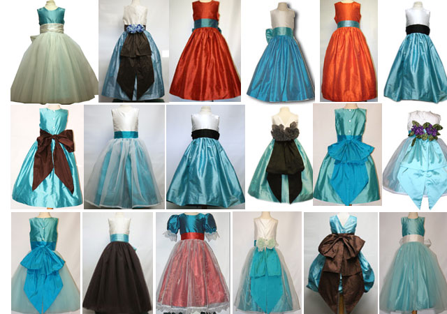 Tiffany or turquoise flower girl dresses continue to dominate ...
