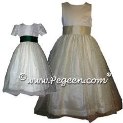 Flower Girl Dresses 372 (shown in Claret & Dark Amethyst #1000 Nights)