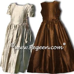 Flower Girl Dresses 379 (shown in Sage & Amethyst)