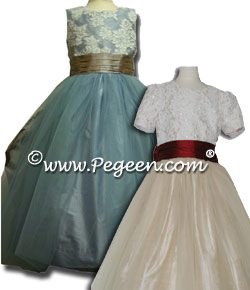 Aloncon Lace/Tulle Flower Girl Dresses