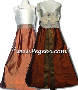 Silk Junior Bridesmaids Dress