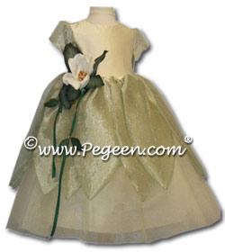 Princess & The Frog Flower Girl Dresses 421