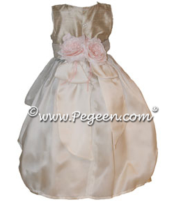 Isabella Flower Girl Dress from the Regal Collection by Pegeen