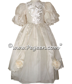 Guinevere Flower Girl Dress from the Regal Collection by Pegeen