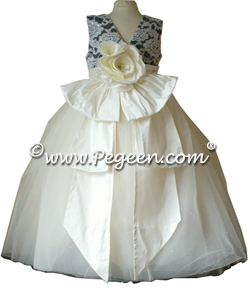 Victoria Flower Girl Dress from the Regal Collection by Pegeen