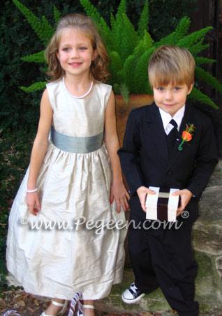 Jim Hjelm Fawn & Jasper Dress Matching Flower Girl Dresses Style 398