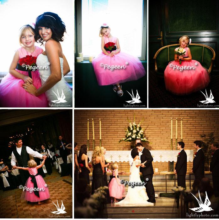 Pink Flower Girl Dresses Flower Girl Dresses Suits Inspired By
