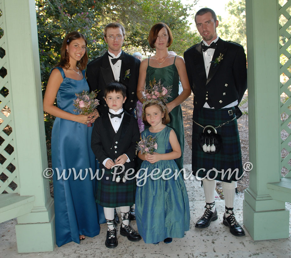 Flower Girl Dresses -  Scottish Wedding Themes