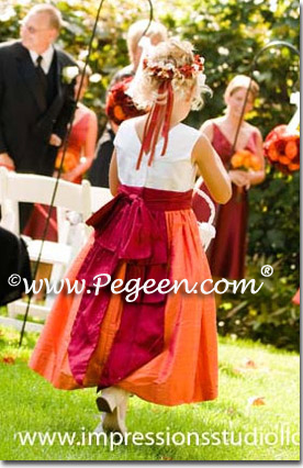 Mango Flower girl dresses