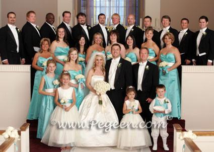 Tiffany+blue+wedding+dresses