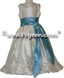 Elizabeth Flower Girl Dress from the Regal Collection by Pegeen
