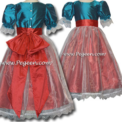 Clara's Party Dress Nutcracker or Party Flower Girl Dress from the Nutcracker Collection by Pegeen