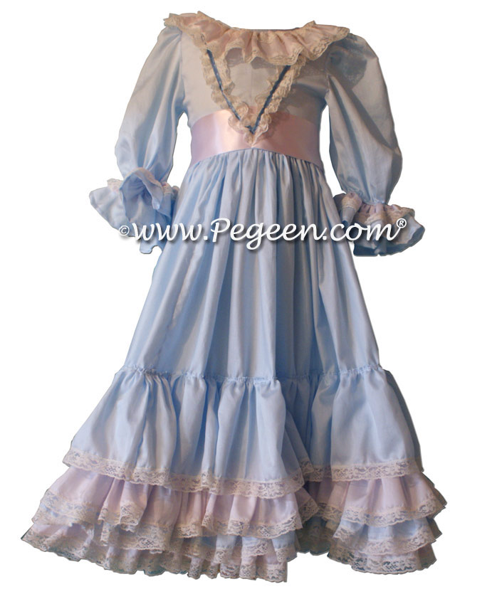 Clara s Nightgown for the Nutcracker in Light Blue Cotton ... 83bc4b6c2