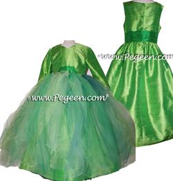 Tinkerbell Fairy Flower Girl Dress Style 501