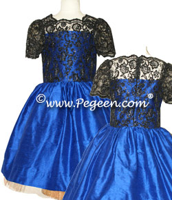 Jr Bridesmaid Aloncon Lace Bodice Shell Style 430