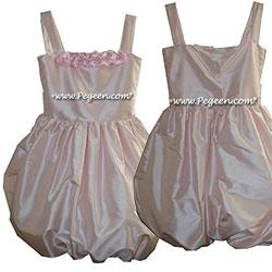 Cotillion or Couture Jr. Bridesmaids Dress Bubble with Straps