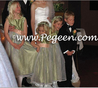Matching Forever Yours Flower Girl dresses by Pegeen
