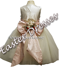 BABY CHICK FROG PRINCESS ballerina style Flower Girl Dresses with layers and layers of tulle by Pegeen