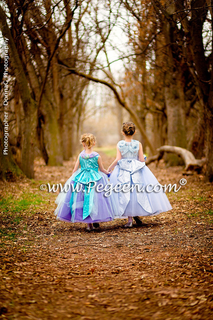 Cinderella Flower Girl Dresses from The Fairy Tale Collection