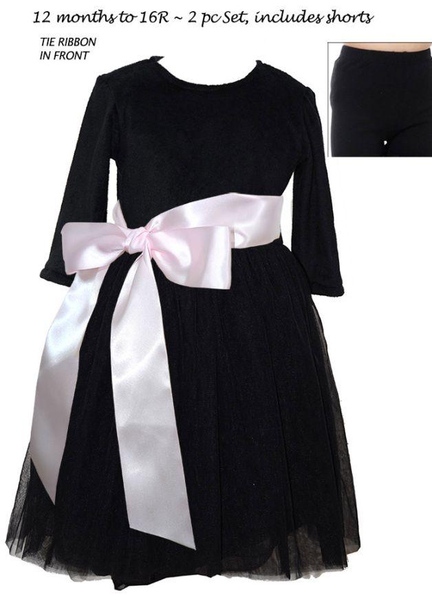 Princess Dress - 3/4 Sleeve Dress   Pegeen 1100