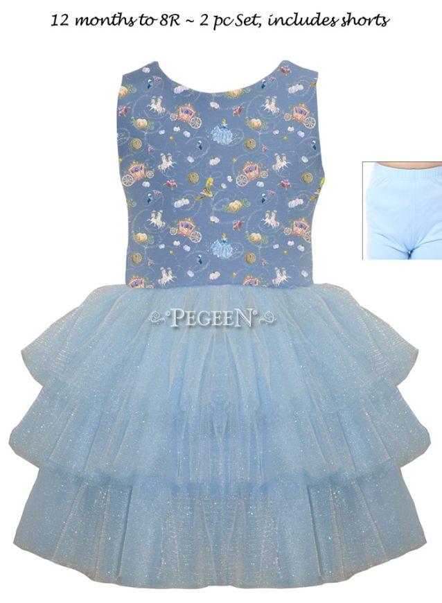 Princess Cinderella Dress 1117