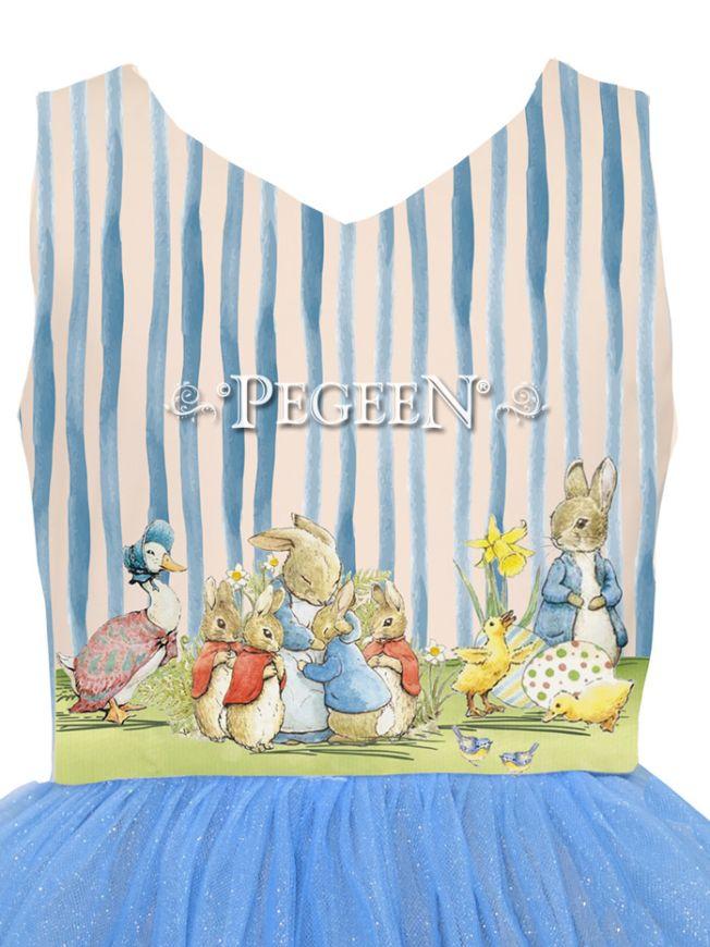 Princess Cotton Tail Dress | Pegeen 1130