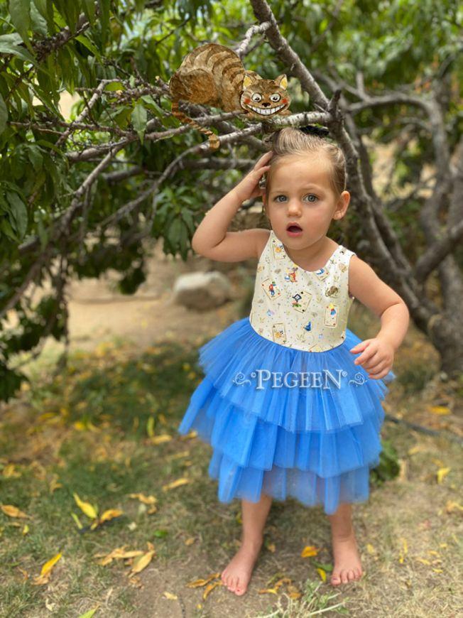 Alice in Wonderland Dress   Pegeen 1119