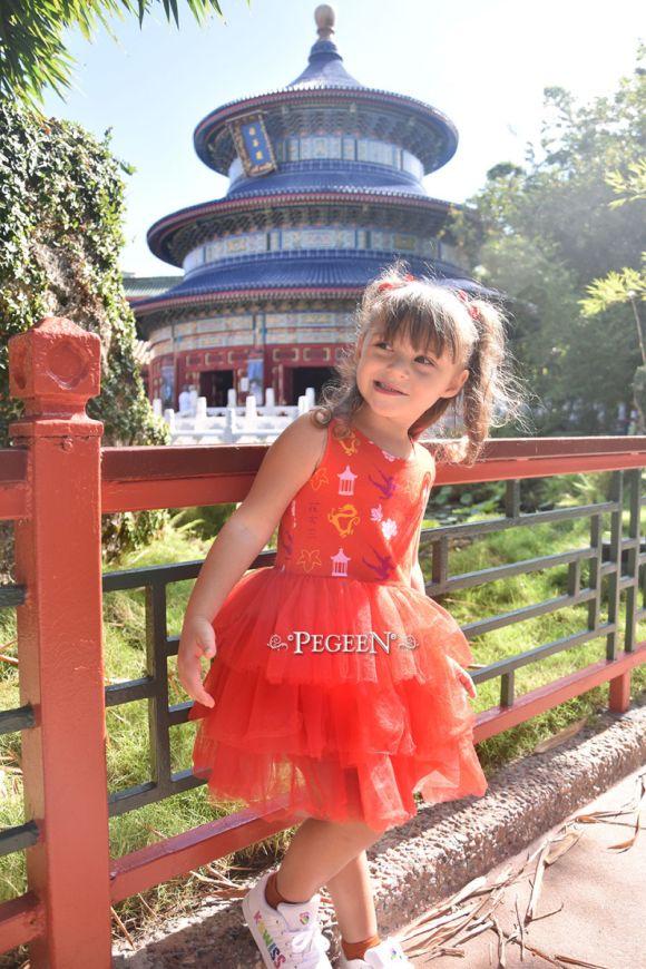 Mulan princess dress