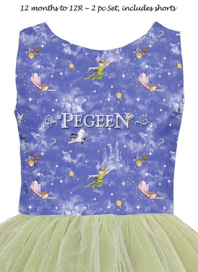Princess Dress - Peter Pan | Pegeen 1133