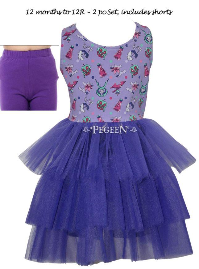 Princess Everyday Dress - Girl Villains | Pegeen 1142