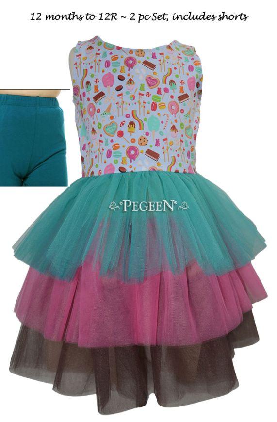Princess Everyday Dress - Candy   Pegeen 1146