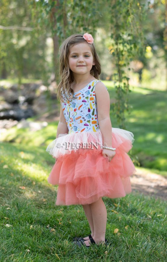 Princess Everyday Dress - French Soup| Pegeen 1147