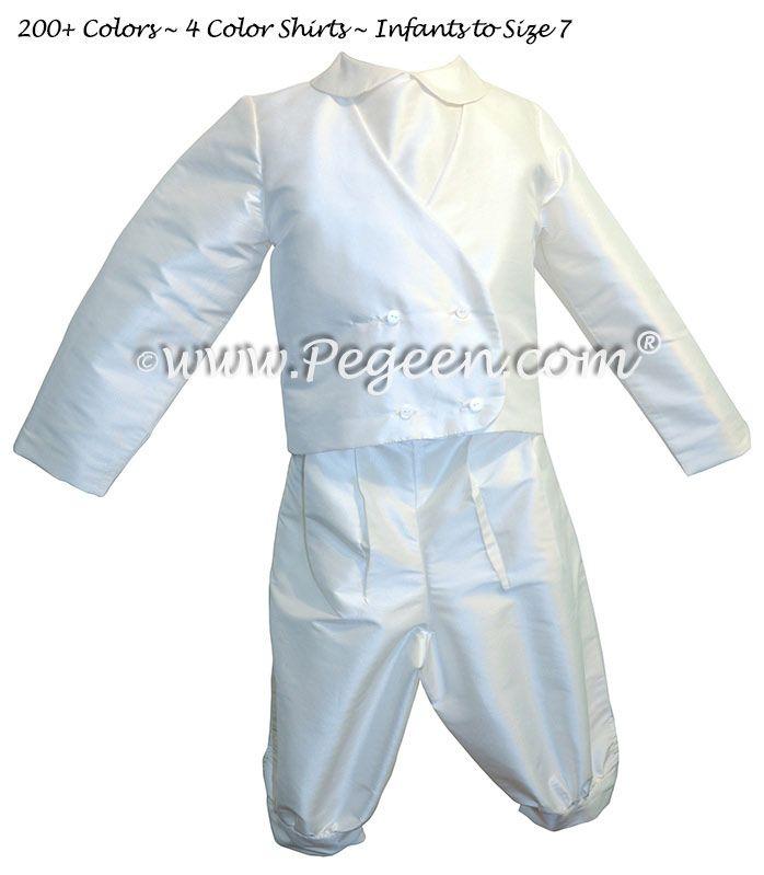 Boy's silk knicker suit