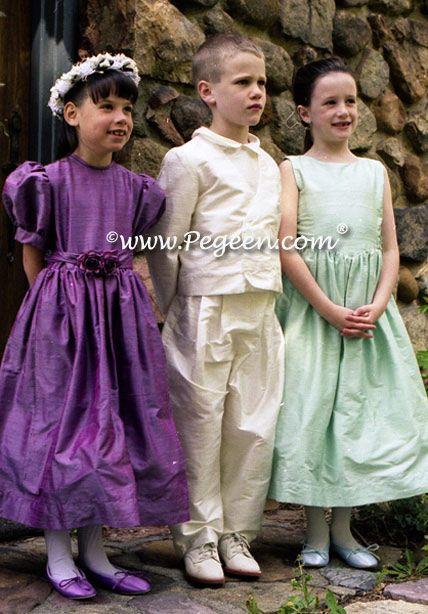 Boys Silk Ringbearer Suit Style 219