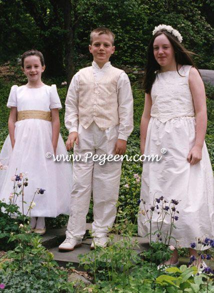 Boy's 3 pc vest suit for older boys