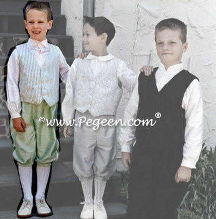 Boy's 3 pc vest suit Style 237