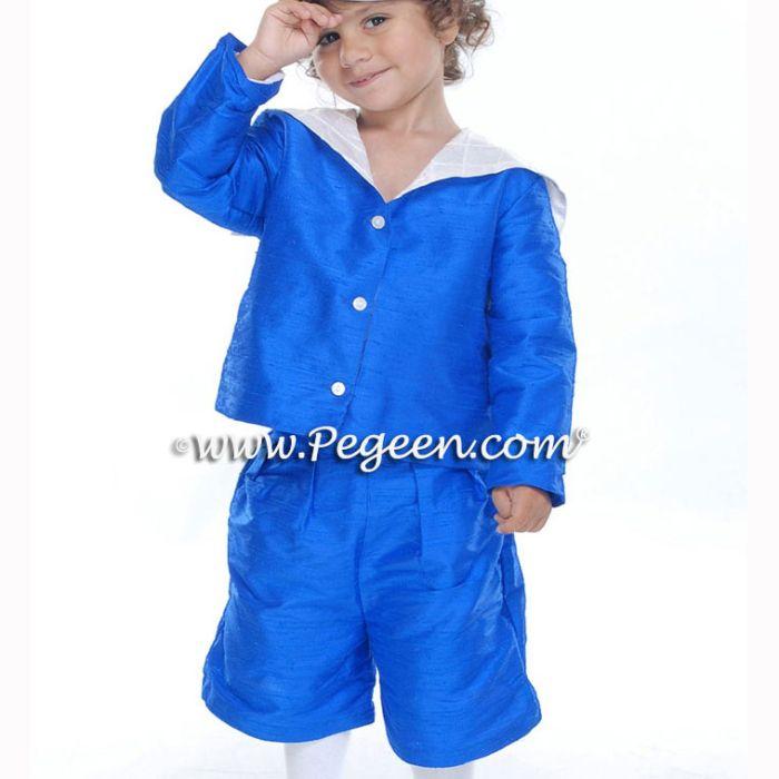 Boys Style 240 - Shorts, Sailor Jacket & Cummerbund