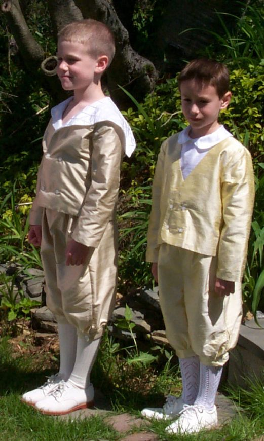 Boys Style 241 - Knickers, Sailor Jacket & Cummerbund