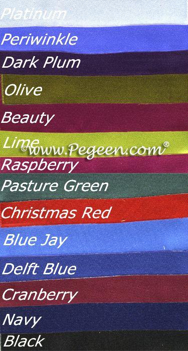 Flower Girl Dress Style 300 - Ribbon Colors