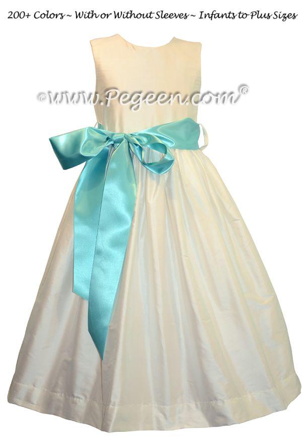 with Tiffany Blue Ribbon