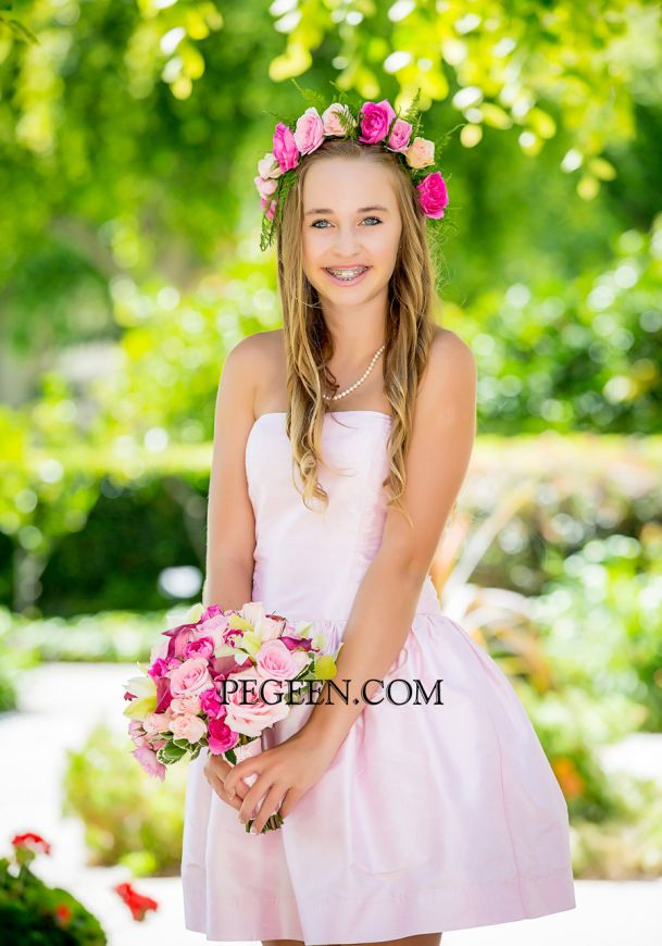 Model - Pegeen Tween Jr Bridesmaids Dress Style 306