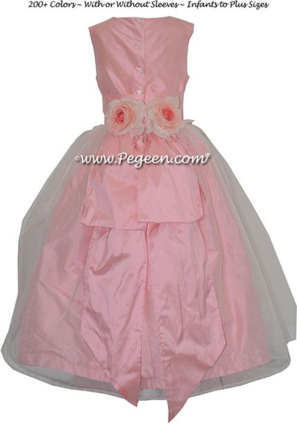 Flower Girl Dress Style 313 in Bubblegum - one of 200+ colors