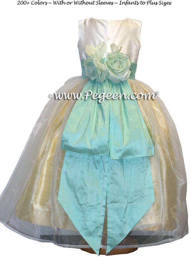 Details for Flower Girl Dress Style 313