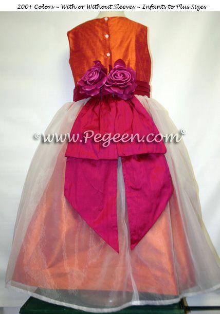 Flower Girl Dress Style 313 - Mango