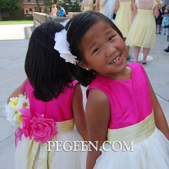 Model for Flower Girl Dress Style 313